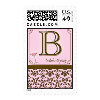 Wedding Postage - Bachelorette Party Stamps