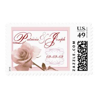 Wedding Postage - Custom Names and Date