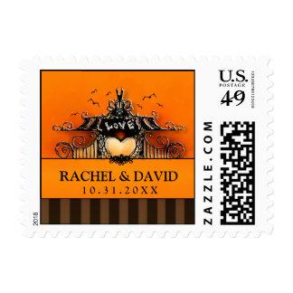 Wedding Postage - Halloween Love