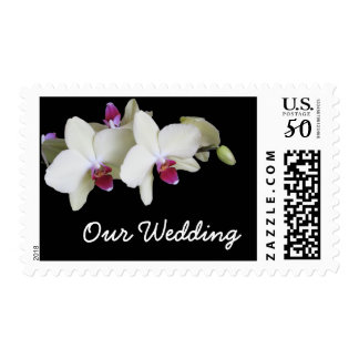 Wedding Postage -- Orchids