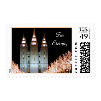 Wedding Postage: Salt Lake Temple Wedding Stamp