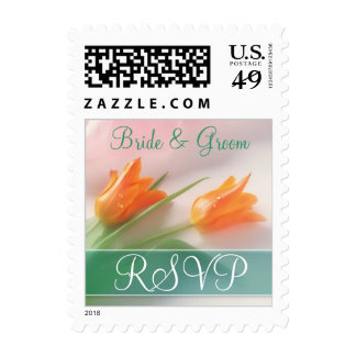 Wedding Postage - Small RSVP Reply Stamp
