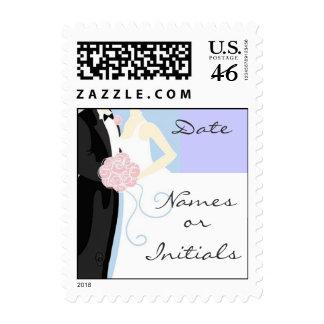 Wedding Postage Stamp I
