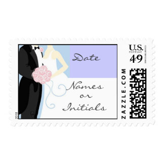Wedding Postage Stamp I - Horizontal