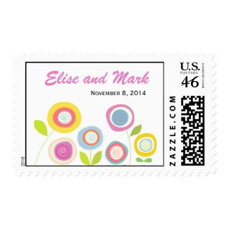 Wedding Postage Stamps stamp