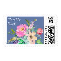 Wedding Postage Stamps Shower Invitations RSVP