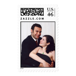 Wedding Postage with your engagement Photos