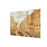Wedding Procession of Edward, Prince of Wales Canvas Print