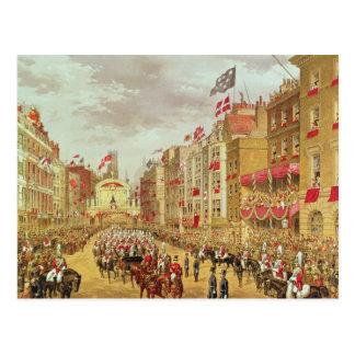 Wedding Procession of Edward, Prince of Wales Postcard