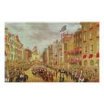 Wedding Procession of Edward, Prince of Wales Poster