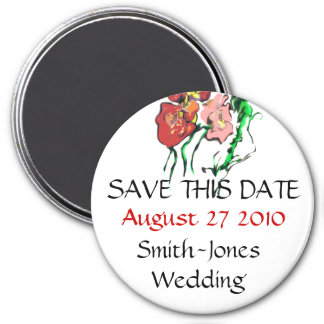 WEDDING PRODUCTS 3 INCH ROUND MAGNET