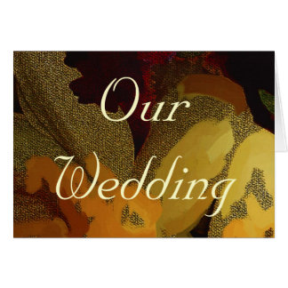 WEDDING PRODUCTS GREETING CARD