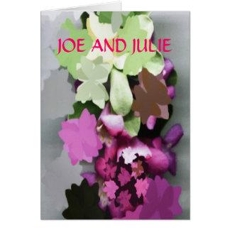 WEDDING PRODUCTS CARD