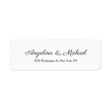 Professional Business Wedding Professional Creative Script Handwriting Label