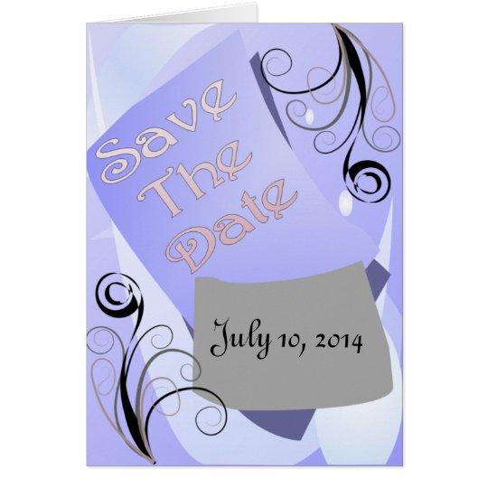 Wedding Program (Bifold Design with Photo)
