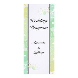 Wedding Program Bubble Star Fairy Tale Personalized Invite
