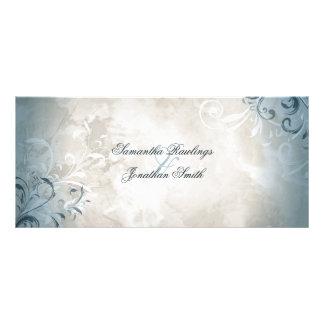 Wedding Program - Elegant Vintage Foliage & Swirls