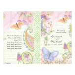 Wedding Program - Wings of Love Collection Personalized Flyer
