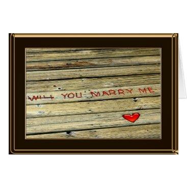 LivingLife Wedding Proposal Card