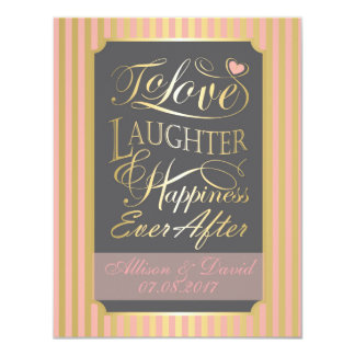 Wedding quote design, with custom letters card