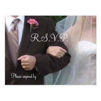 Wedding R.S.V.P. Postcard