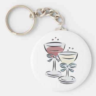 Wedding Reception 47 Basic Round Button Keychain