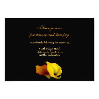 "Wedding Reception Card Invitation 3.5"" X 5"" Invitation Card"
