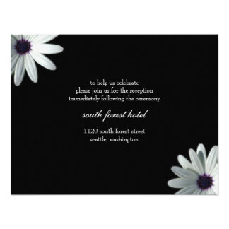 Wedding Reception Card Personalized Announcement