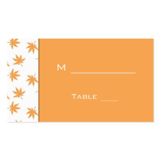 wedding reception dinner table # card for guest business card template