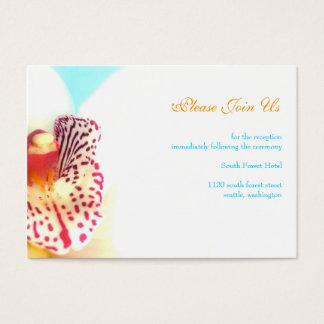 Wedding Reception Enclosure Card