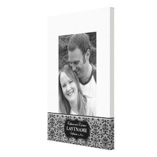 Wedding Reception Guest Book Gallery Wrapped Canvas