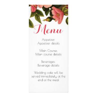 Wedding Reception Guest Dinner Menu