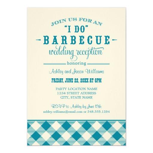 I Do Bbq Wedding Invitations 027 - I Do Bbq Wedding Invitations