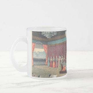 Wedding reception of Crown Prince Yoshihito Frosted Glass Coffee Mug