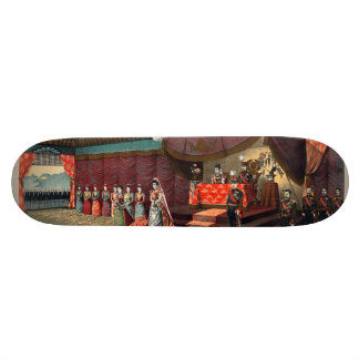 Wedding reception of Crown Prince Yoshihito Skateboard Deck