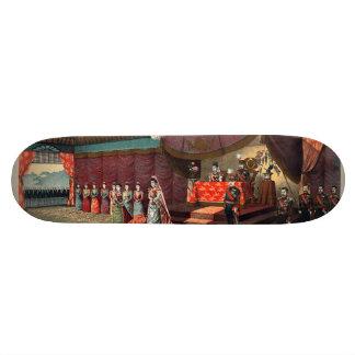 Wedding reception of Crown Prince Yoshihito Skateboard Deck