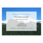 Wedding Reception Only Invitation  -- Mountain Custom Invitations