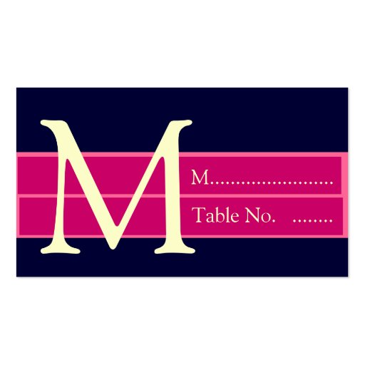 Wedding Reception Table Seating Escort Cards Business Card Templates