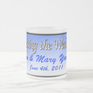 Wedding Receptions Frosted Glass Coffee Mug
