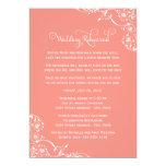 Wedding Rehearsal and Dinner Invitations | Coral Announcements