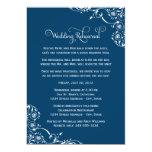 Wedding Rehearsal and Dinner Invitations | Navy Invitations
