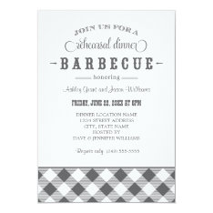 Wedding Rehearsal Dinner Invitation | Casual BBQ at Zazzle