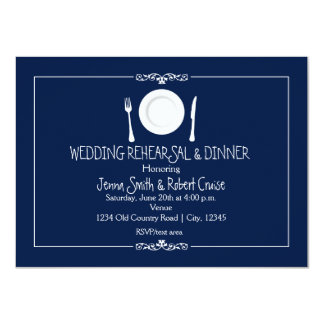 Wedding Rehearsal Dinner Invitations -ANY COLOR