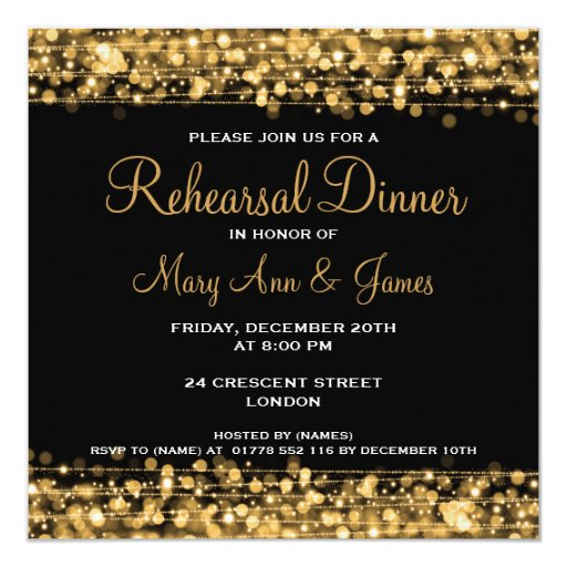Personalized Invitation Card for good invitations layout