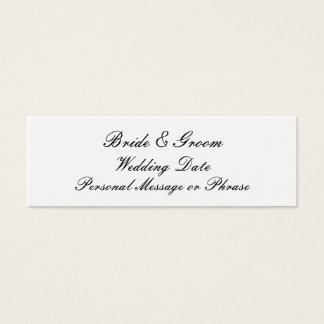 Wedding Reminder Insert for Invitations