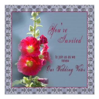 Wedding Renewal - Blooming Flower Card