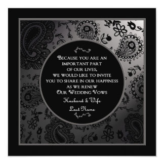 Wedding Renewal Invitations