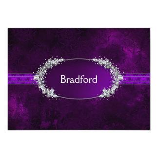 Wedding Renewal of Vows - Invitation - Purple
