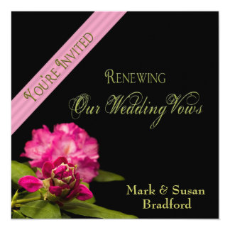Wedding Renewal of Vows - Invitations