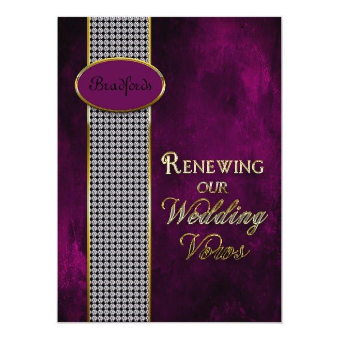 Wedding Renewing Vows